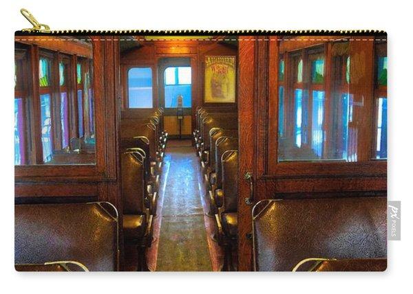 Passenger Train Memories Carry-all Pouch