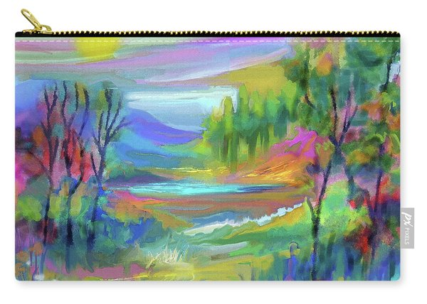 Pastel Landscape Carry-all Pouch