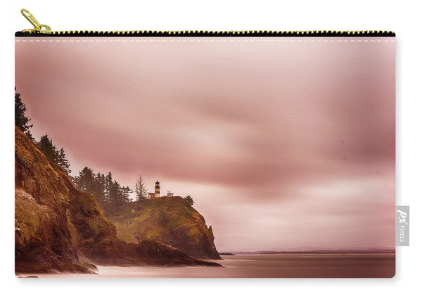 Carry-all Pouch featuring the photograph Pastel Seascape by Dheeraj Mutha