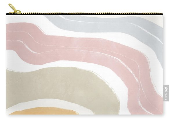 Pastel Waves 1- Art By Linda Woods Carry-all Pouch