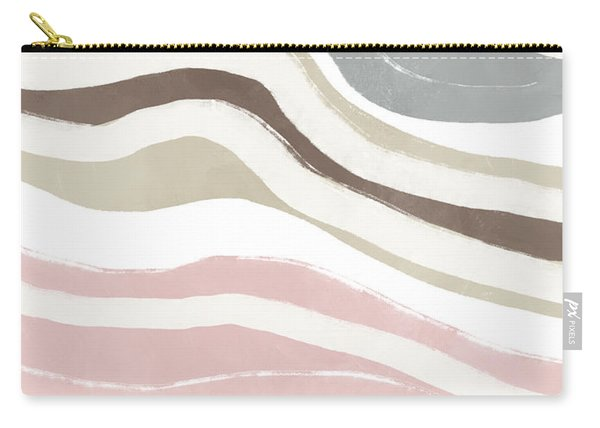 Pastel Waves 2- Art By Linda Woods Carry-all Pouch