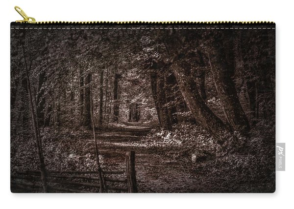 Path In Forest #i0 Carry-all Pouch