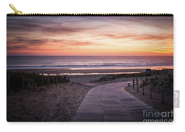 Path To The Sea Carry-all Pouch