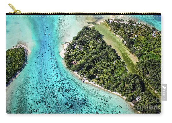 Bora Bora - Pathway To The Ocean Carry-all Pouch