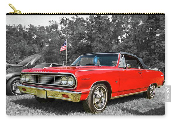 Patriotic 64 Chevy Chevelle Carry-all Pouch