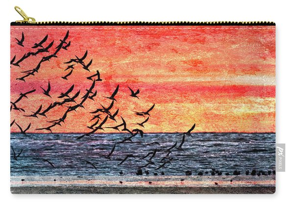 Patriotic Sunrise Carry-all Pouch
