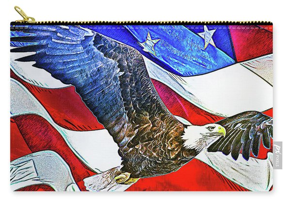 Patriotism Carry-all Pouch