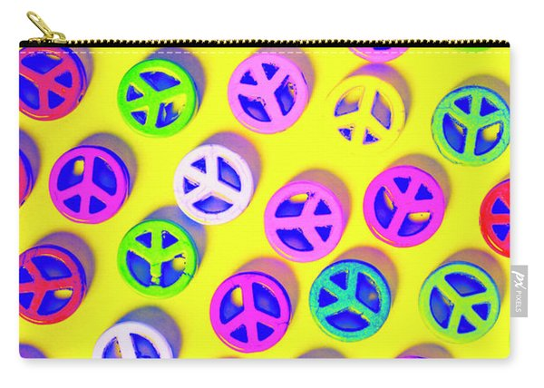 Patterning Peace Carry-all Pouch
