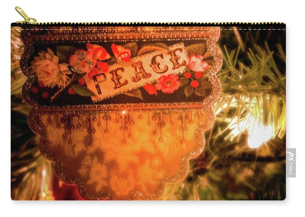 Carry-all Pouch featuring the photograph Peace by Allin Sorenson