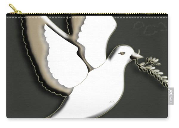 Peace Among The Clouds Carry-all Pouch