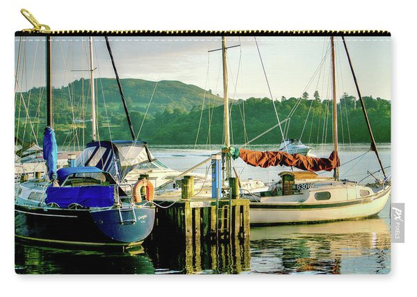 Peace In Lake Windermere Carry-all Pouch