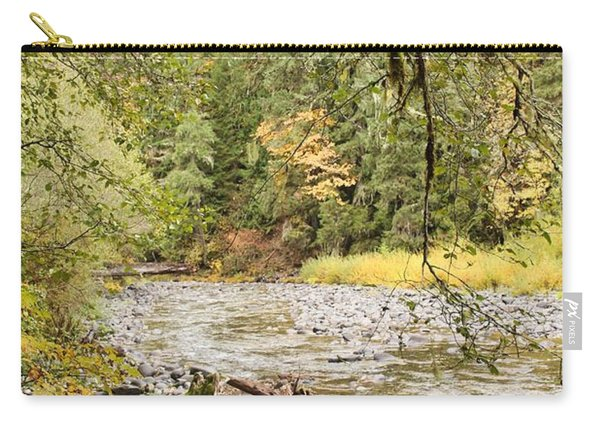 Peaceful Molalla River Carry-all Pouch