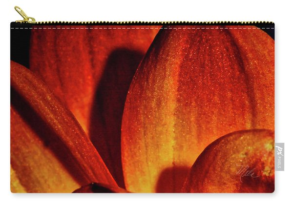 Peach Petals Carry-all Pouch