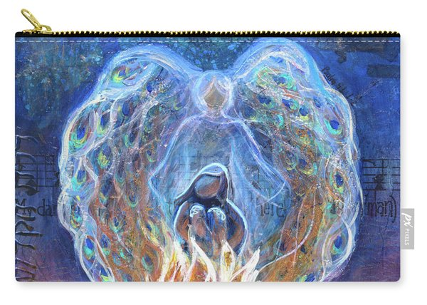 Peacock Angel Carry-all Pouch