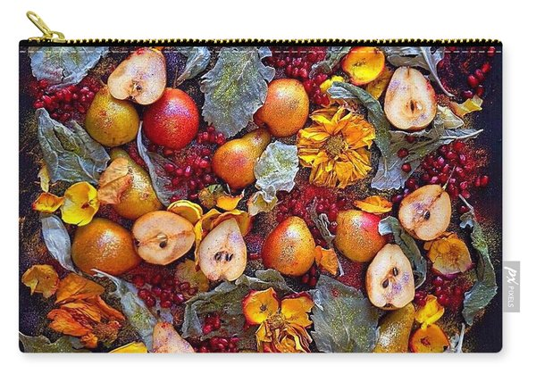 Pear Livable Tapestry Carry-all Pouch
