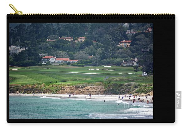Pebble Beach Serenity After The Open Carry-all Pouch