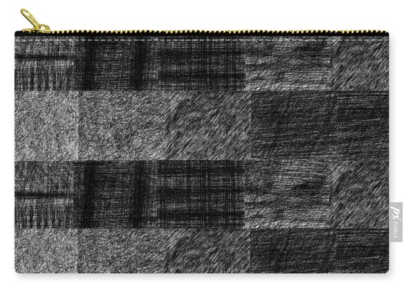 Pencil Scribble Texture 1 Carry-all Pouch