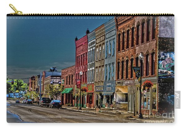 Carry-all Pouch featuring the photograph Penn Yan by William Norton