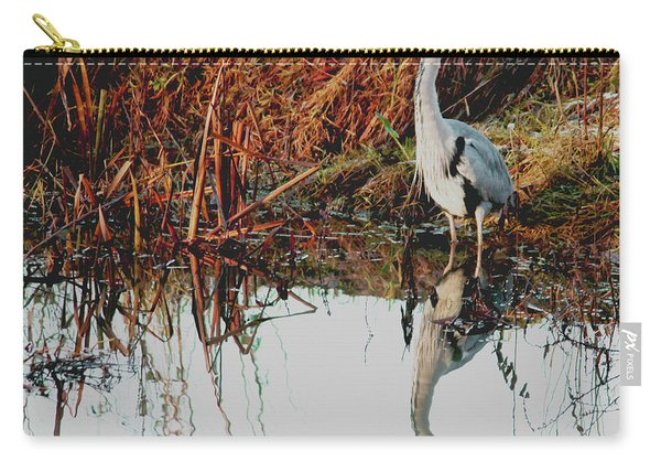 Pensive Heron Carry-all Pouch