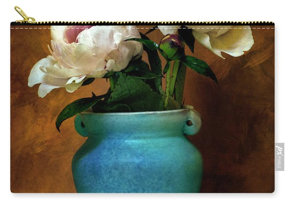 Peonies In Spring Carry-all Pouch