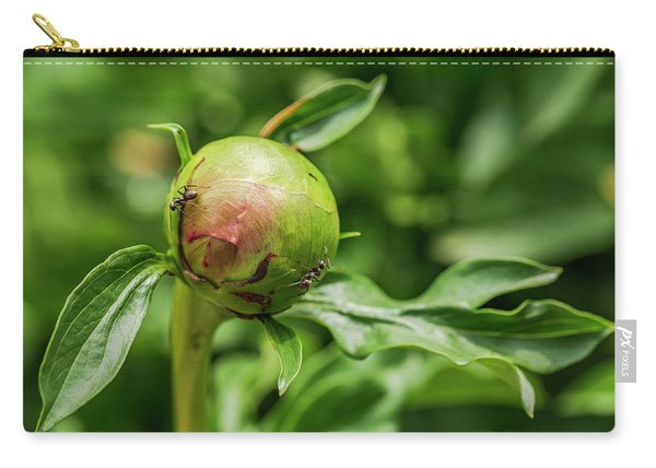 Peony Patrol Carry-all Pouch