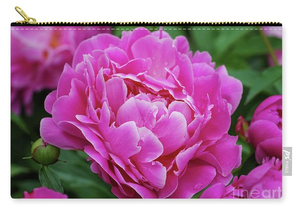 Peony Season Carry-all Pouch