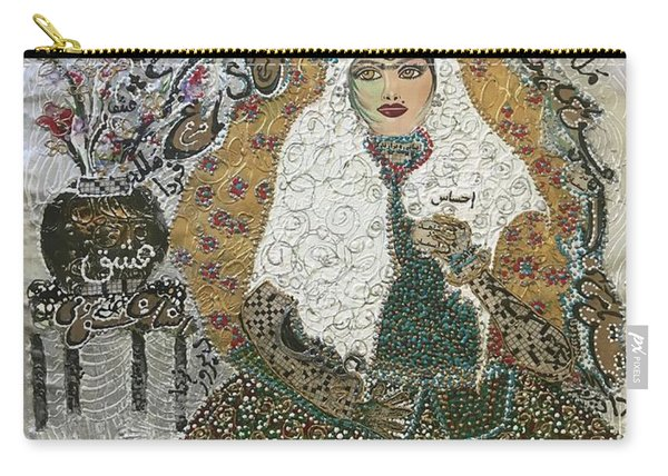 Persian Women Quajar Carry-all Pouch