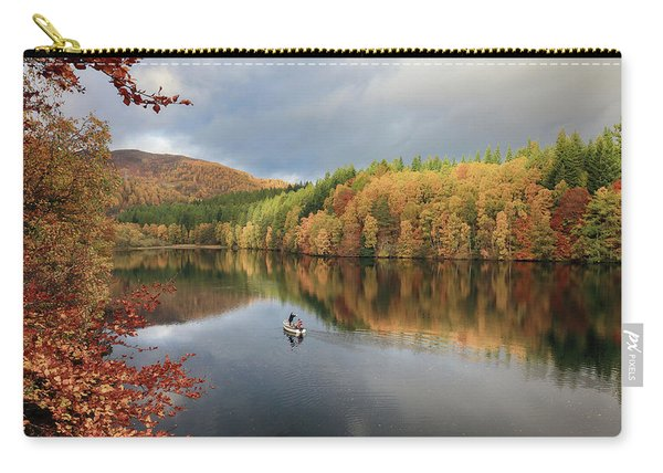 Perthshire Autumn Carry-all Pouch