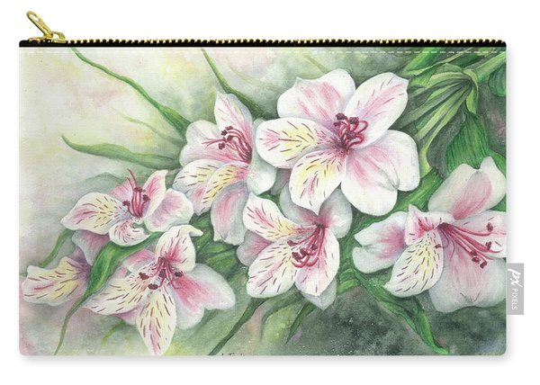 Peruvian Lilies Carry-all Pouch