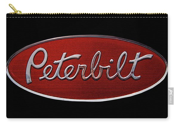 Peterbilt Emblem Black Carry-all Pouch