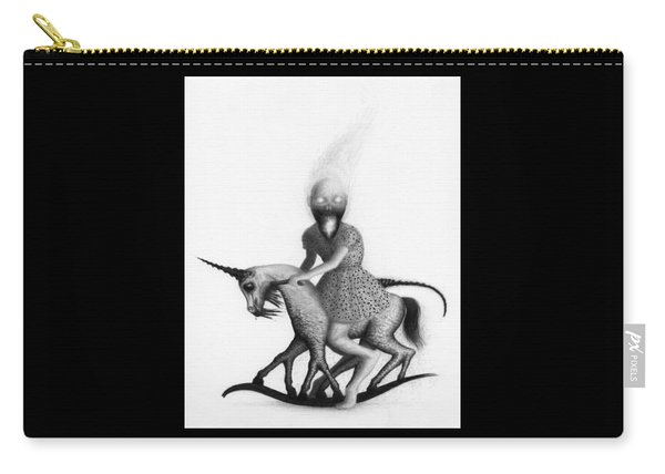 Philippa The Crackling Rider - Artwork  Carry-all Pouch