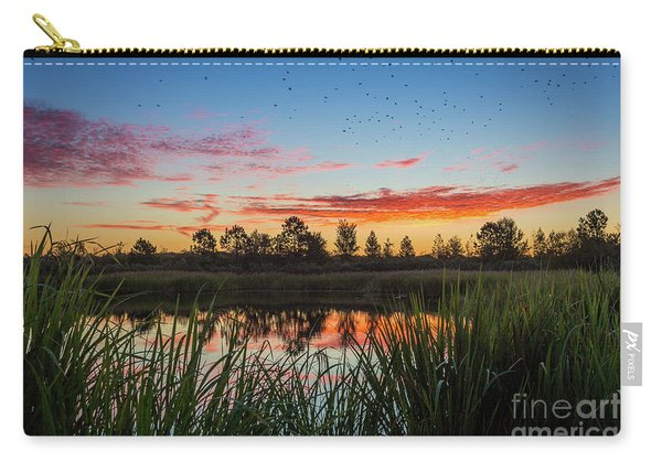 Phinizy Swamp Sunrise - Augusta Ga Carry-all Pouch