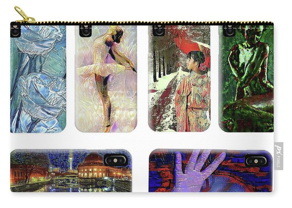 Phone Cases Samples Carry-all Pouch