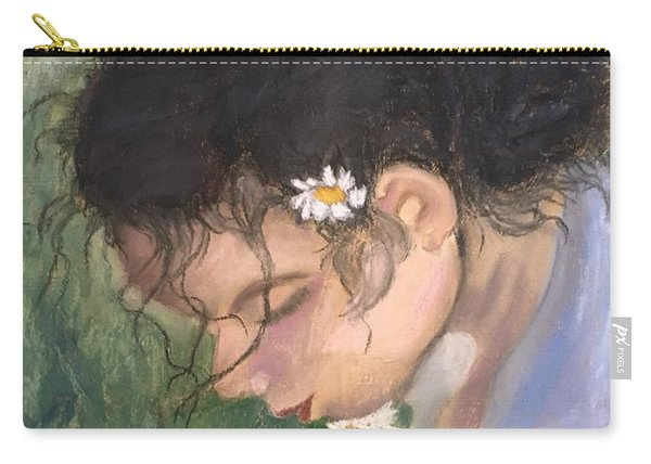 Picking Daisies Carry-all Pouch