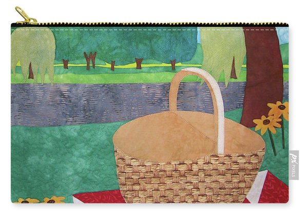 Picnic At Ellis Pond Carry-all Pouch