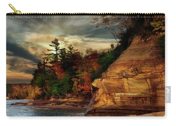 Pictured Rocks National Park Carry-all Pouch