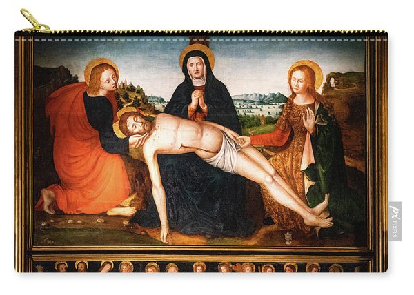 Pieta Des Penitents Blancs Francois Brea Carry-all Pouch