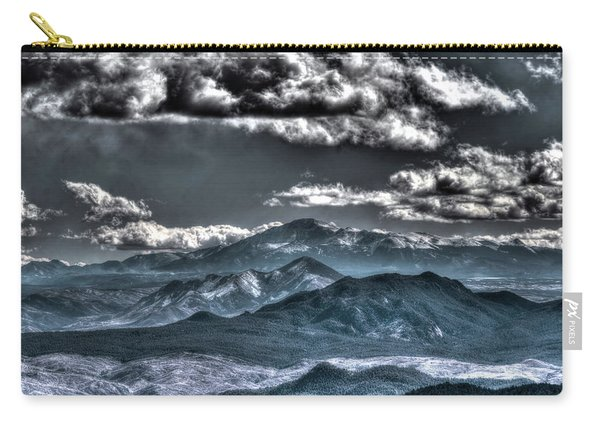 Pikes Peak And Clouds Carry-all Pouch