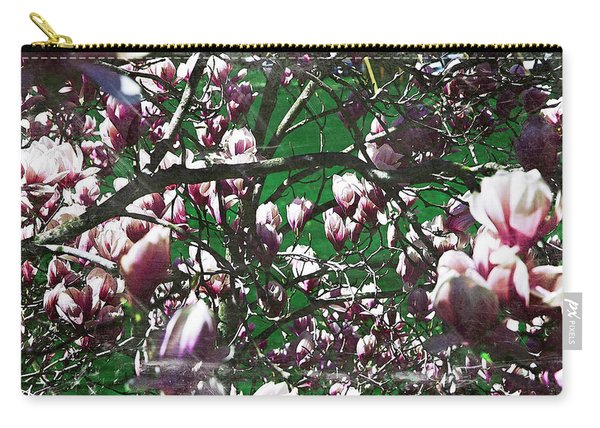 Pink Bush Carry-all Pouch