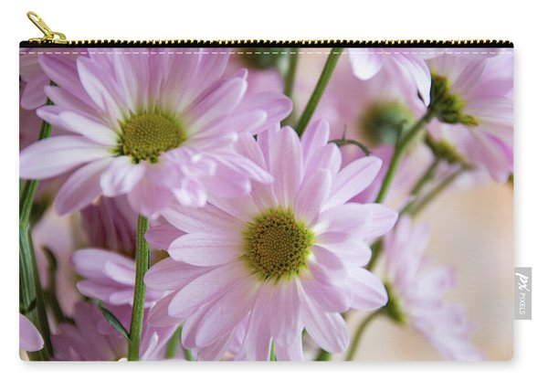 Pink Daisies-1 Carry-all Pouch