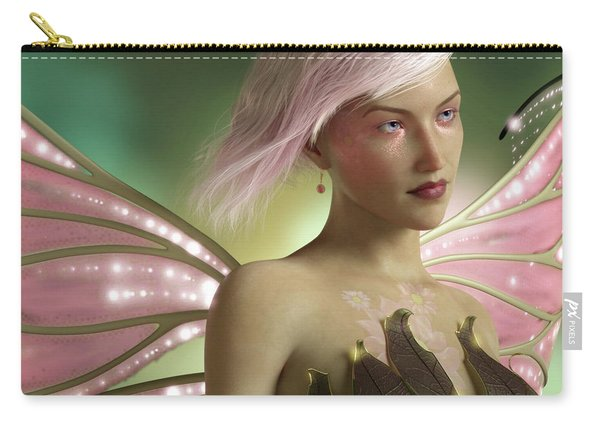 Pink Fairy Carry-all Pouch