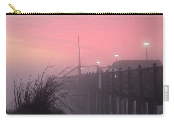 Pink Fog At Dawn Carry-all Pouch