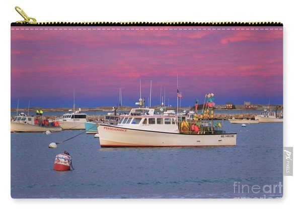 Pink In Plymouth Carry-all Pouch