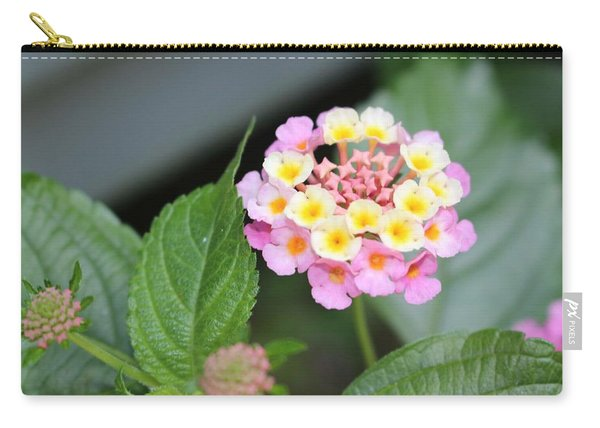 Pink Lantana Carry-all Pouch