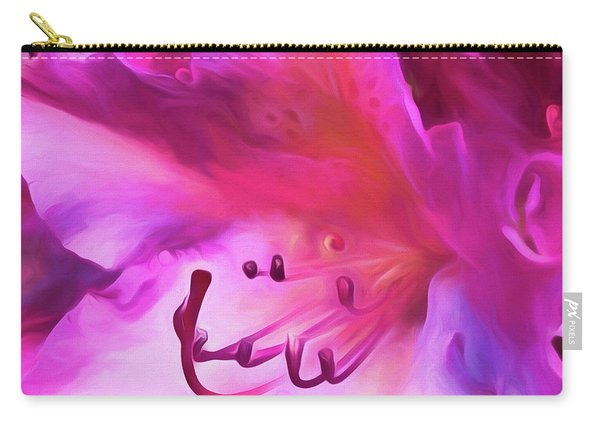 Pink O'keefe Carry-all Pouch