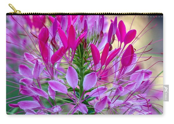 Pink Queen Flower Carry-all Pouch