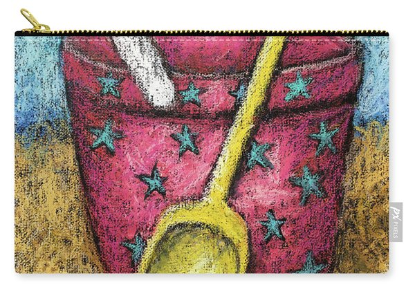 Pink Sand Pail Carry-all Pouch