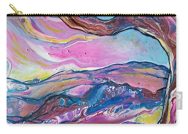 Pink Sky Carry-all Pouch
