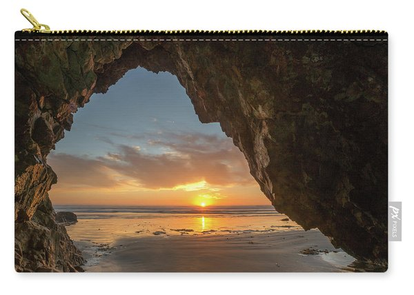 Pismo Caves Sunset Carry-all Pouch