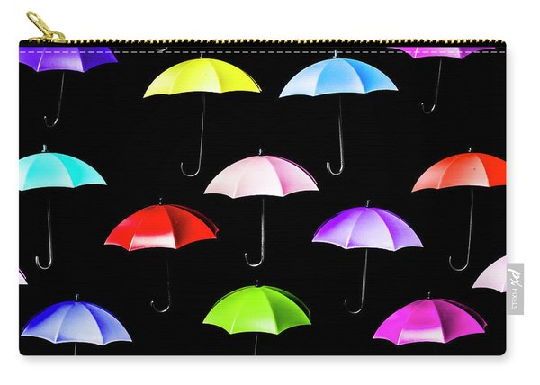 Pitter-pattern Carry-all Pouch